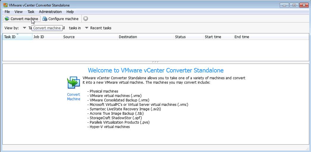 OS4X VMware virtualized image - conversion - OS4X